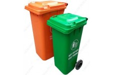 Thùng rác HDPE 120l