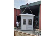 Bốt gác bảo vệ Composite Thăng Long mái nhọn - BG 2.0