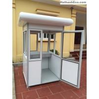 Cabin bảo vệ khung thép mái vòm