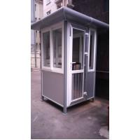 Cabin bảo vệ khung thép mái vuông